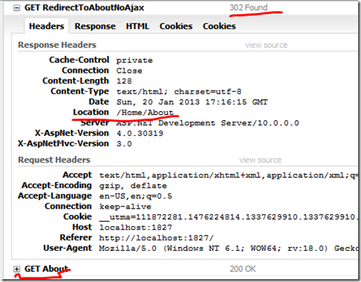 Redirect and Ajax Redirect in MVC – A Programmer with